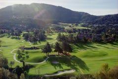 Поле для гольфа ранчо долины Carmel Стоковое Изображение RF