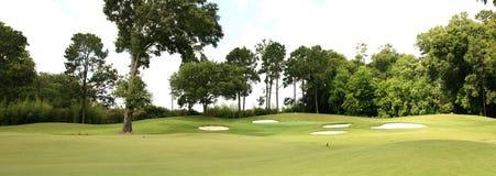 Поле для гольфа Стоковая Фотография RF