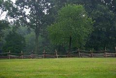 поле загородки Стоковые Фото