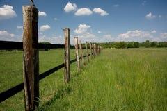 поле загородки Стоковое фото RF