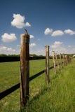 поле загородки Стоковое Изображение