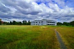 поле здания стоковая фотография rf