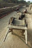 поле кирпича Индия Бенгалии западная Стоковая Фотография