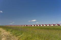поле коттеджей ближайше Стоковое Изображение RF