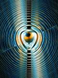 поле магнитное Стоковое Изображение RF