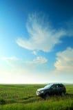 поле мозоли автомобиля стоковые изображения