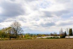Поле около Праги Стоковое фото RF