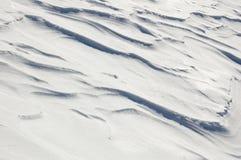 поле пустыни снежное Стоковая Фотография RF