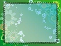 поле флористическое Стоковые Изображения RF
