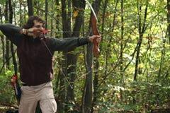 поле archery Стоковая Фотография