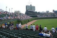 поле wrigley chicago Стоковое Фото