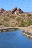 полив пустыни стоковые фотографии rf