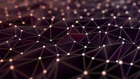 Полигональная поверхностная сеть стоковая фотография