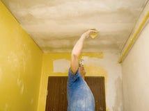 полировать потолка Стоковые Фотографии RF