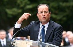 политикан hollande francois французский Стоковое Изображение