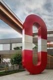 Политика интеграции искусств в Architectecture и окружающей среде стоковое фото rf