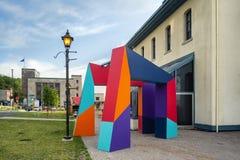 Политика интеграции искусств в Architectecture и окружающей среде стоковая фотография rf