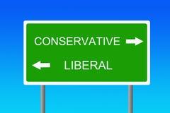 политические взгляды Стоковые Изображения RF