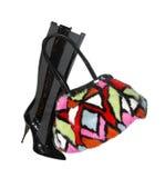политура ботинка шикарная женская Стоковое Фото