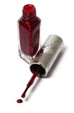 политура ногтя искусства Стоковое фото RF