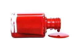 политура ногтя потека Стоковое фото RF