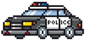Полицейская машина шаржа Стоковая Фотография