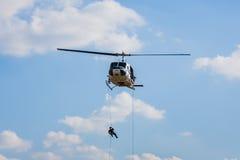 Полицейский вертолет Стоковые Изображения