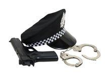 полицейский набора Стоковое Изображение RF