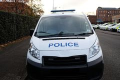 Полицейский фургон Великобритании стоковые изображения