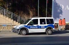 Полицейский фургон Стоковые Изображения RF