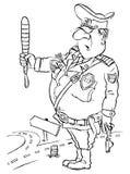 полицейский Бесплатная Иллюстрация