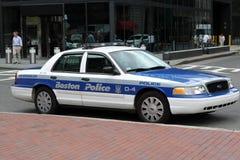 полиции автомобиля boston Стоковые Изображения