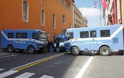 полиции барьера Стоковые Фото
