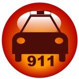 полиции иконы звонока Стоковое Изображение RF