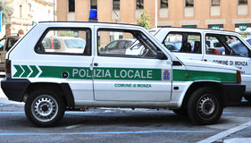 полиции итальянки автомобиля Стоковое Изображение