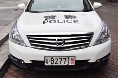 полиции китайца автомобиля стоковые фото