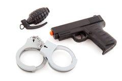 полиции оборудования Стоковое Изображение