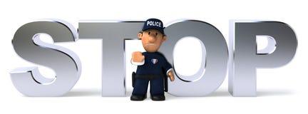 полиции офицера бесплатная иллюстрация