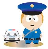 полиции офицера Стоковое Фото