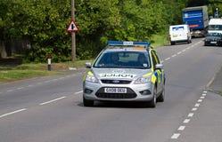 полиции патруля автомобиля Стоковая Фотография