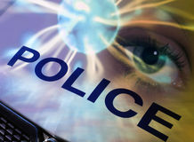 полиции принципиальной схемы Стоковые Изображения