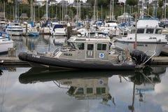 полиции шлюпки Стоковое Изображение RF