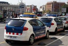 полиции barcelona Стоковое Изображение