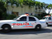 полиции miami пляжа Стоковые Изображения