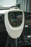 полиции mic автомобиля передают по радио Стоковое Изображение