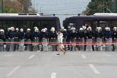 полиции riot Стоковые Изображения