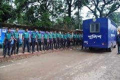 Полиция Бангладеша главным образом правоохранительный орган Бангладеша стоковые изображения