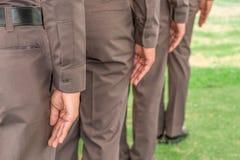 Полиция гребет Стоковая Фотография RF