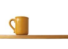 полка чашки Стоковая Фотография RF