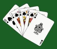 полная зеленая королевская лопата Стоковая Фотография RF